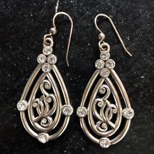 Brighton Chandelier Earrings w/Swarovski Crystals